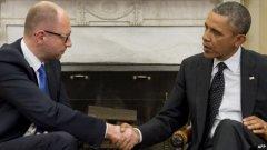 Яценюк зустрівся з Обамою у Вашингтоні