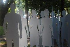 У Чернівцях представлено арт-інсталяцію «Невидимі» ФОТОГАЛЕРЕЯ