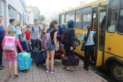 До Чернівців на оздоровлення приїхали 16 дітей із зони АТО