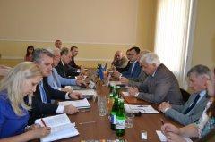 У Чернівецькій області перебуває делегація Сенату Румунії