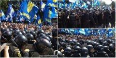Під Верховною Радою почались заворушення: мітингувальники кидають димові шашки
