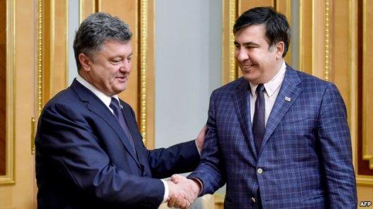 Порошенко про петицію щодо Саакашвілі: «З нього вийде чудовий прем'єр… Грузії»