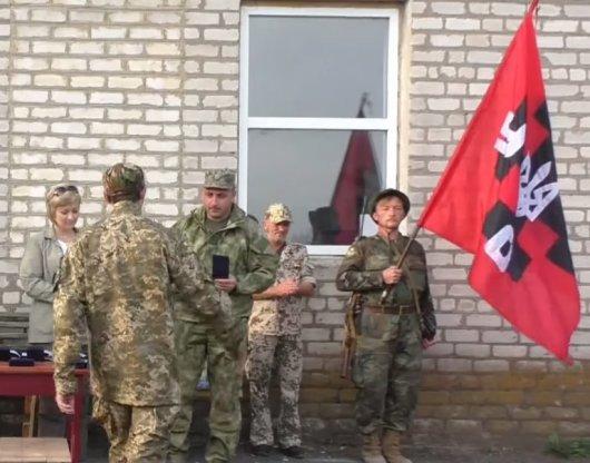"""14 бійців куреню УНСО нагороджено медаллю """"Маріуполь. Відстояли. Перемогли"""""""