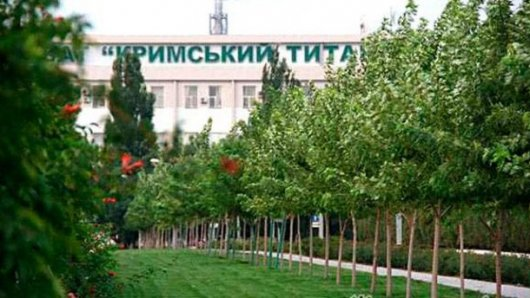 Завод Фірташа зупинився через блокаду Криму