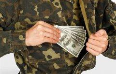 На Буковині офіцера Нацгвардії взяли на хабарі в півтори тисячі євро