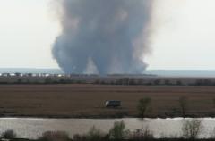 Пожежа в дельті Дністра, пошкоджено 13 гектарів заповідника