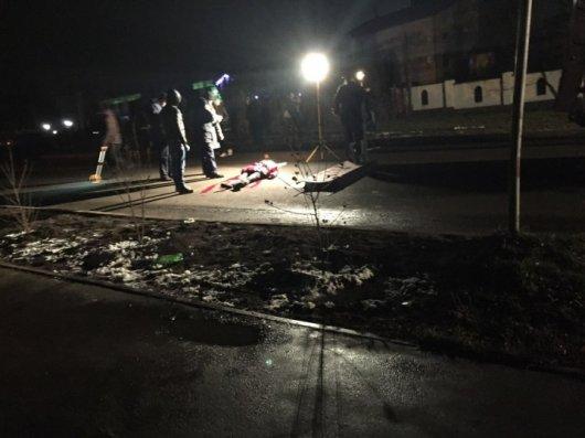 У Чернівцях іномарка насмерть збила жінку. Вона саме переходила дорогу із 11-річним сином