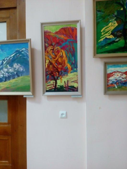 Сучасна виставка в національних барвах: відкриття (ВІДЕОРЕЦЕНЗІЯ)