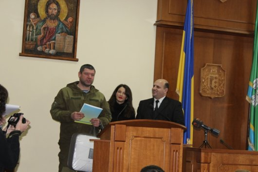 В Чернівецькій ОДА відзначили День соборності України (ВІДЕО)