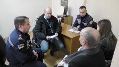Буковинські рятувальники обговорили з представниками місії ОБСЄ ситуацію з вимушеними переселенцями