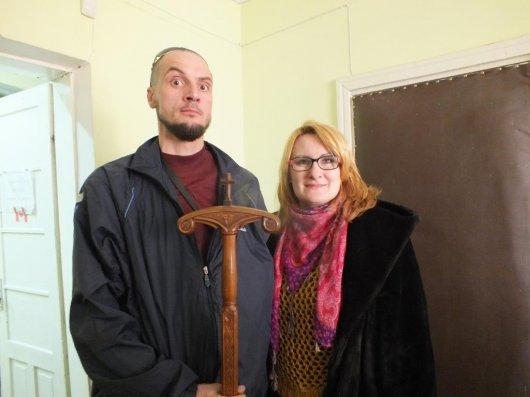 Подарунок священнику від воїна батальйону Джохара Дудаєва
