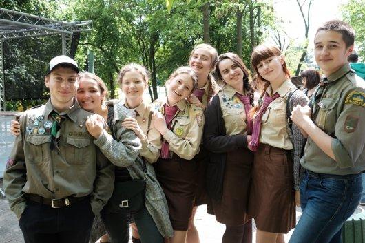 15 травня в Чернівцях відбувся День Пласту
