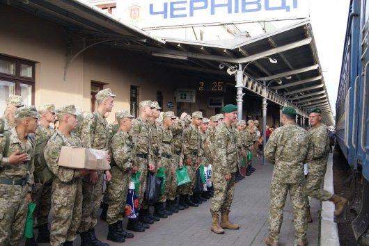 На Буковину для охорони кордону прибуло понад 100 строковиків