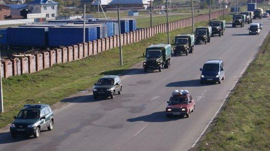 На Буковину прибув прикордонний резерв з Хмельниччини
