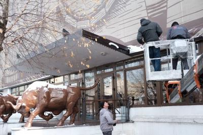 Обшанський проти биків Чинуша