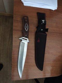 Мешканець Тернопільщини намагався незаконно вивезти з України ніж