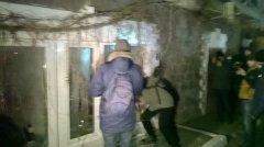 В офісі Медведчука у Києві невідомі вщент потрощили вікна