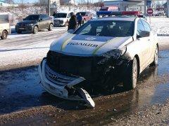 Поліціянти потрапили у ДТП на Глибоччині