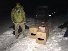 На Буковині СБУ попередила чергову контрабанду цигарок