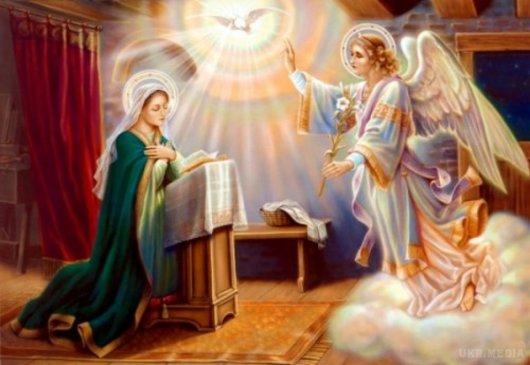7 квітня - Благовіщення Пресвятої Богородиці. Що можна і що не можна робити, прикмети, звичаї, традиції
