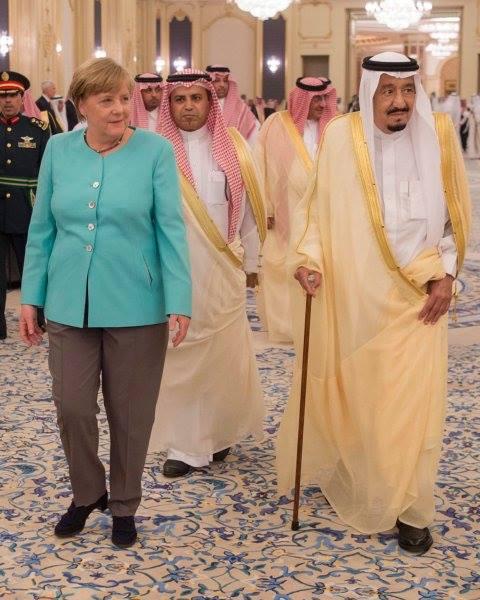 Ангела Меркель з візитом у Саудівську Аравію