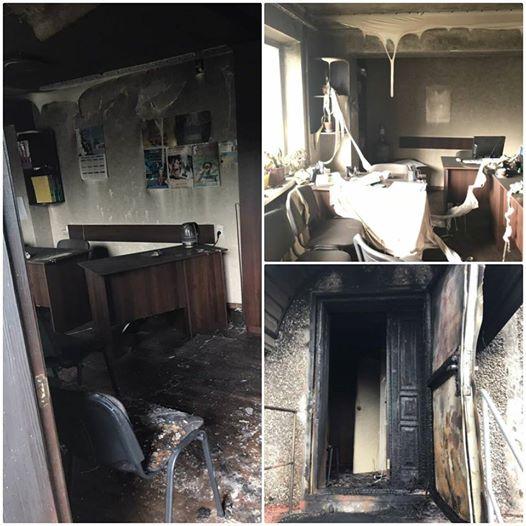 Поліція розслідує підпал двох офісів «Опозиційного блоку» на Дніпропетровщині