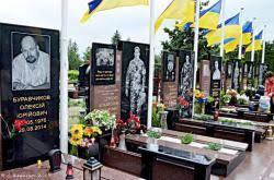 У Чернівцях ціла алея  загиблих воїнів АТО через Савченко