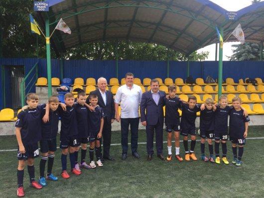У Чернівцях започаткували турнір з футболу серед дітей працівників правоохоронних органів області