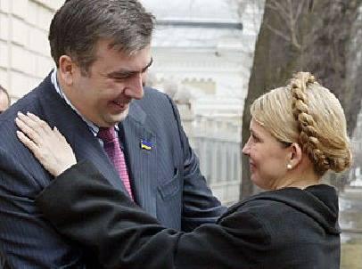 Юлія Тимошенко відвідала Міхеіла Саакашвілі в Польщі?