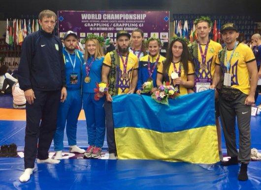 Перемоги буковинців на Чемпіонаті Світу з грепплінгу 18-21.10.2017