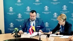 Олексій Каспрук та Ека Ткешелашвілі підписали Меморандум про співпрацю