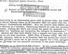 Убивця Кеннеді спілкувався з агентом КДБ