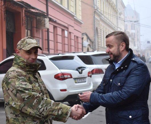"""Буковинський """"КОРД"""" отримав подарунок від аграріїв"""