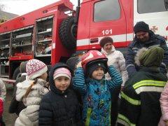 Рятувальники побували у Чернівецькій гімназії №6