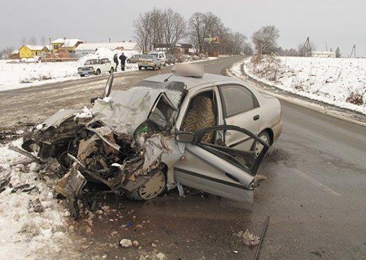 В умовах негоди на Буковині значно збільшилась кількість автокатастроф