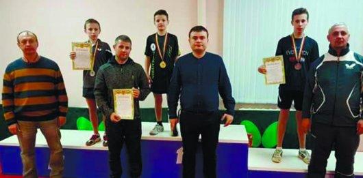 Перемоги юних тенісистів Чернівецької області