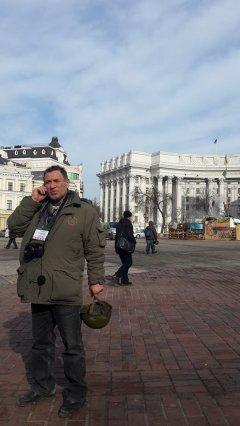 """Чотири роки тому беркутівці штурмували Майдан: """"Тут люди прийшли на смерть, а беркутівці прийшли за гроші, тому вони ніколи не переможуть"""", - Петро Кобевко з Києва"""