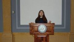 Школярка Чернівецької гімназії №4 презентувала у сенаті США Проект з енергетичної безпеки