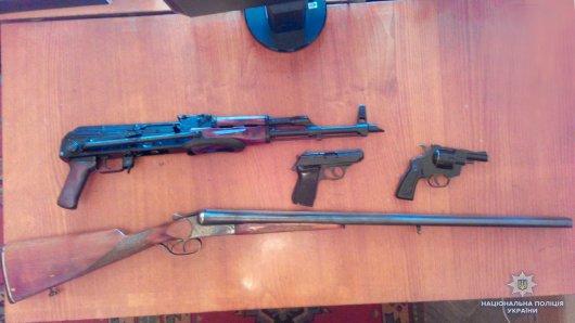 На Буковині триває місячник здачі нелегальної зброї