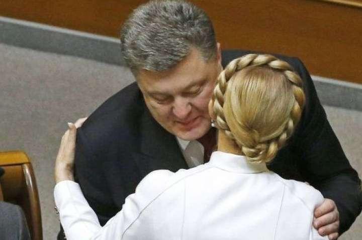 Картинки по запросу фото порошенка з Юлією Тимошенко